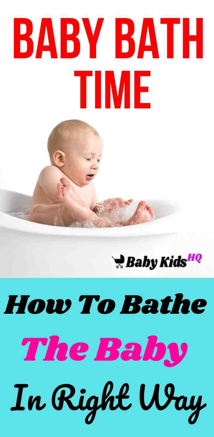 Baby Bath Time: How To Bathe The Baby In Right Way? 1