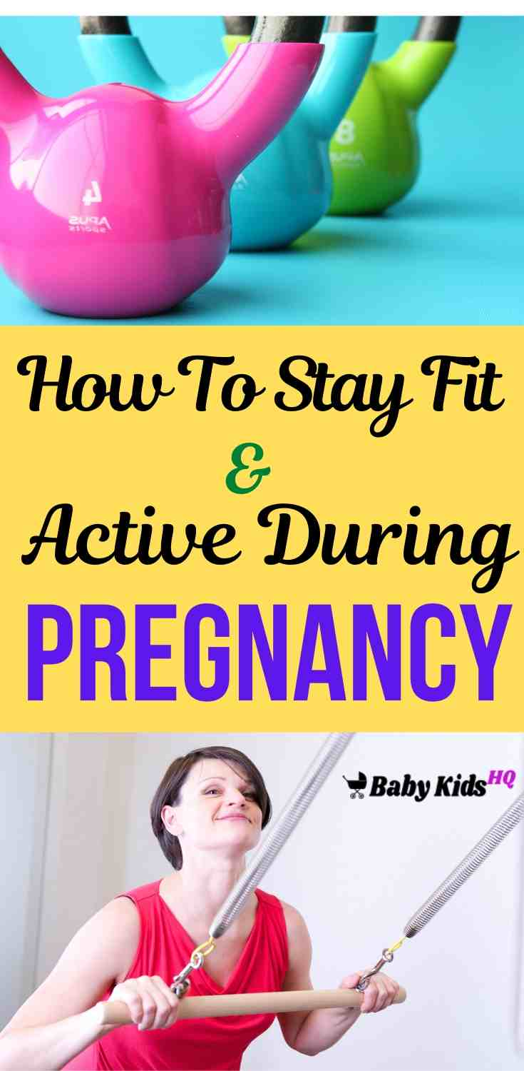 How To Stay Fit And Active During Your Pregnancy!! 4