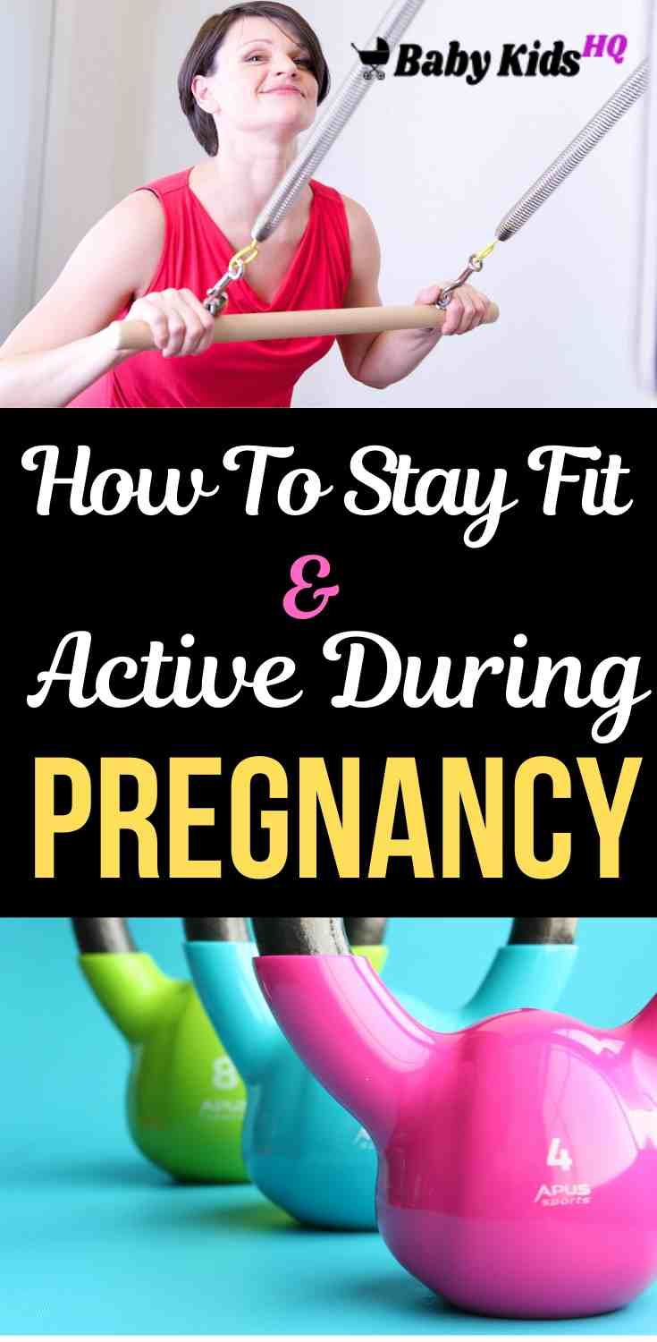 How To Stay Fit And Active During Your Pregnancy!! 3