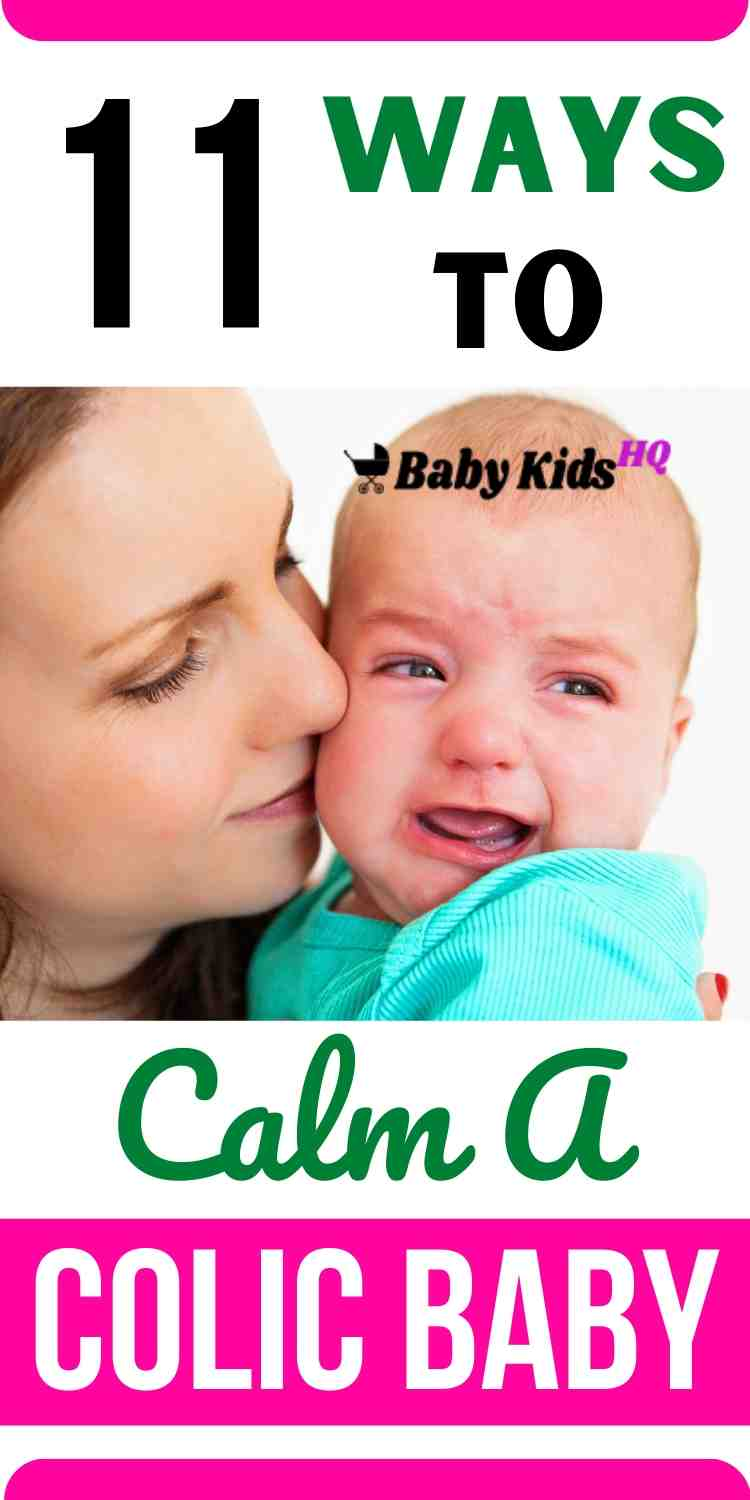 10 ways to calm and treat a colic baby   Clever Colic Remedies For Desperate Moms