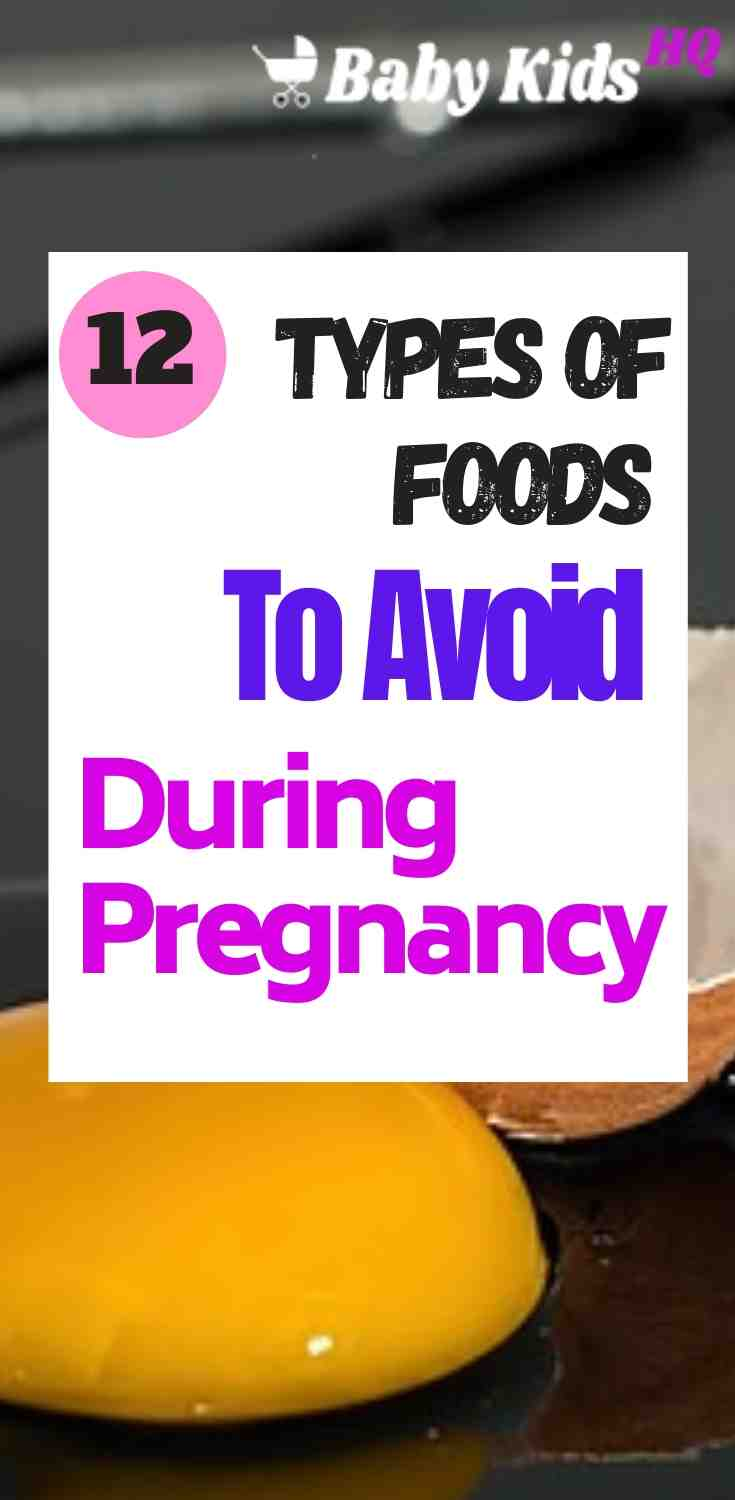 12 Types Of Foods Or Meals To Avoid During Pregnancy 2
