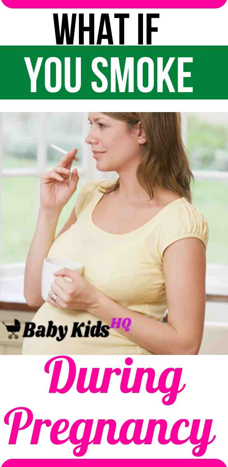 Smoking During Pregnancy Understand The Risks
