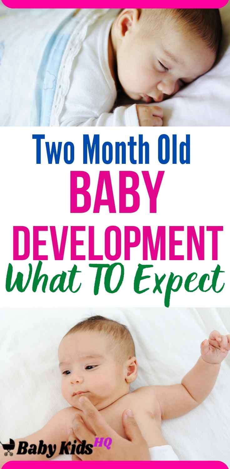 Wondering what two month baby do and wanted to know about two month old baby development & milestones? Check out this post for the activities and development milestones for babies 0-2 months old. This month your two month old baby will reward all your loving care with a beaming, toothless, just-for-you smile. This will probably disarm you, even if you've just had your worst night yet.