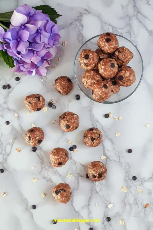 Peanut Butter Energy Balls – No Bake Easy Snack