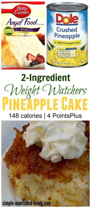 25 Best Weight Watchers Desserts with Smart Points 1