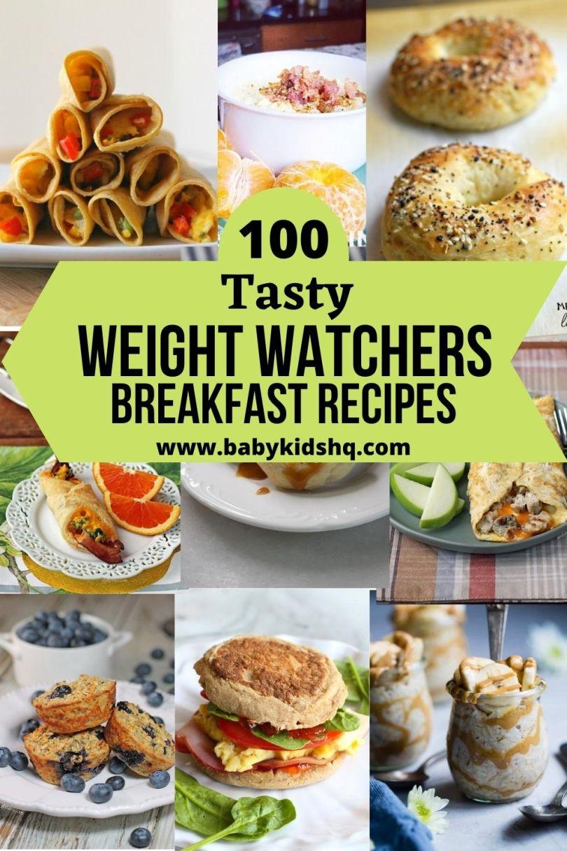 100 Weight watchers breakfast Recipes