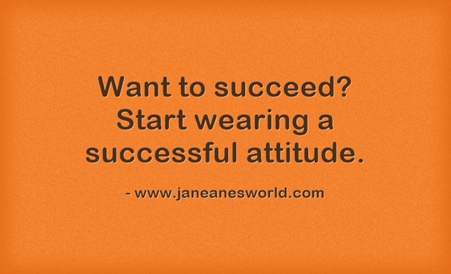It's not just a cliché, your attitude really does determine your altitude. So, <a href=