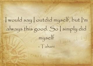 Tahani Quote