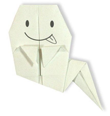 「ハロウィン 飾り 折紙」の画像検索結果