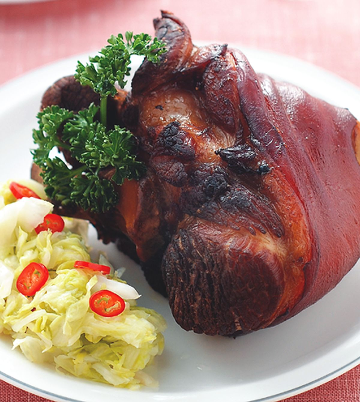 【食譜】酸菜烤豬腳:www.ytower.com.tw