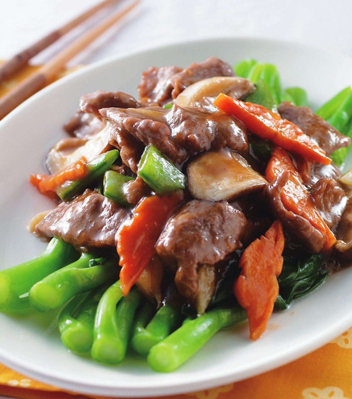 【食譜】蠔油芥蘭牛肉:www.ytower.com.tw