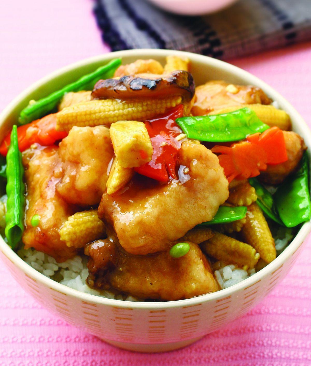 【食譜】紅燒魚腩蓋飯:www.ytower.com.tw