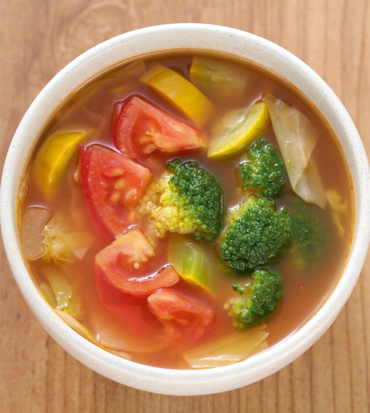 【食譜】義式番茄蔬菜湯(1):www.ytower.com.tw