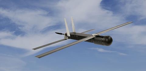 Raytheon Coyote UAV c Raytheon