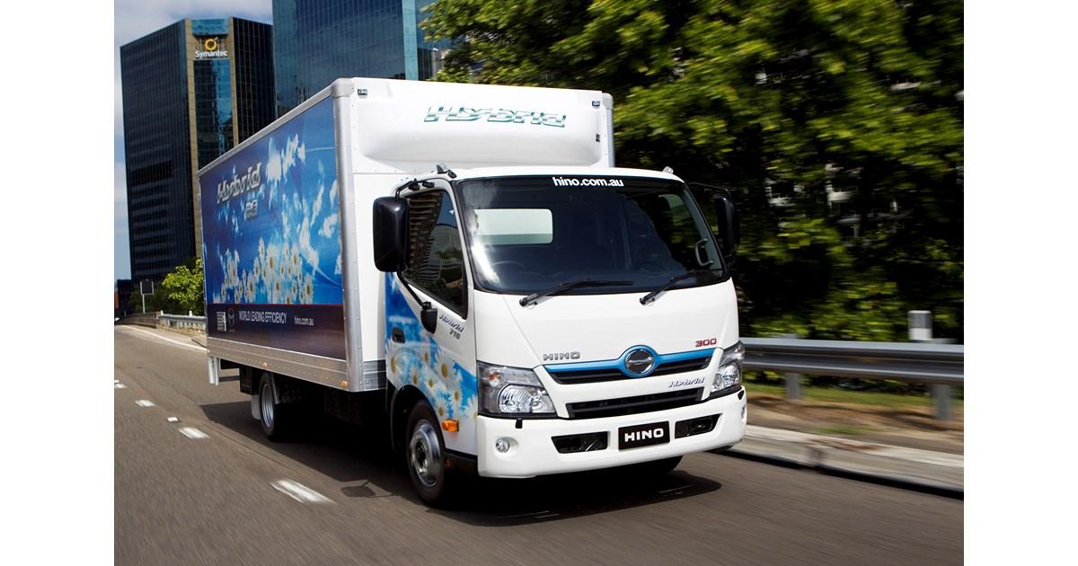 Hino Hybrid Enters Its 10th Year In Australia News