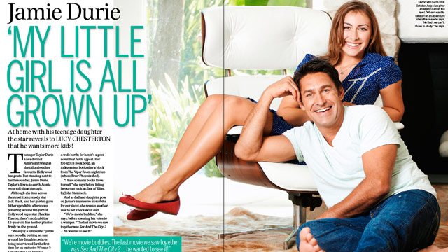 Jamie Durie: Meet my gorgeous daughter! | Woman's Day