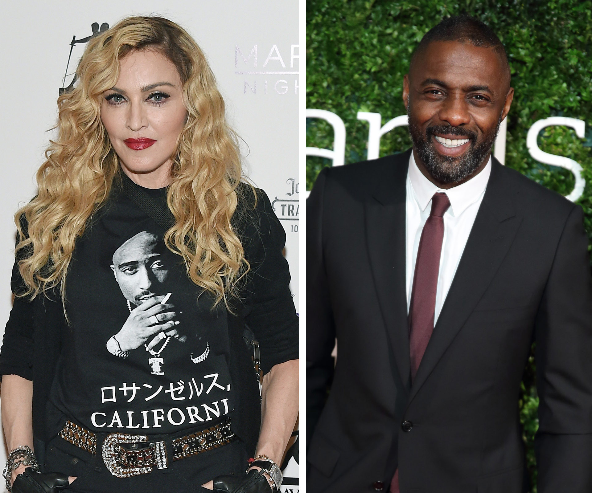 Image result for madonna idris elba