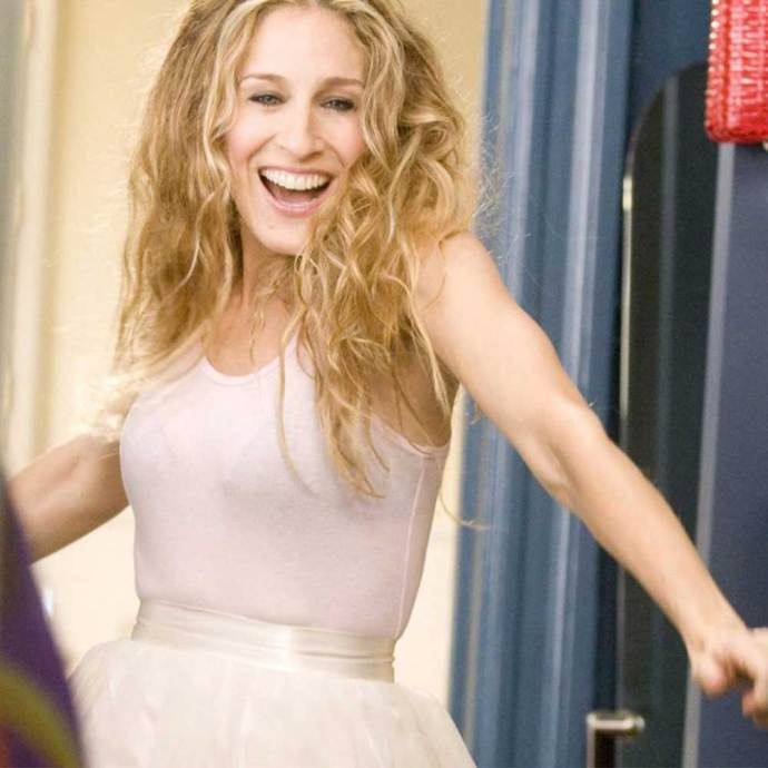 **The good**   The tutu! The natural curls! The barely-there makeup! J'adore Carrie, j'adore.