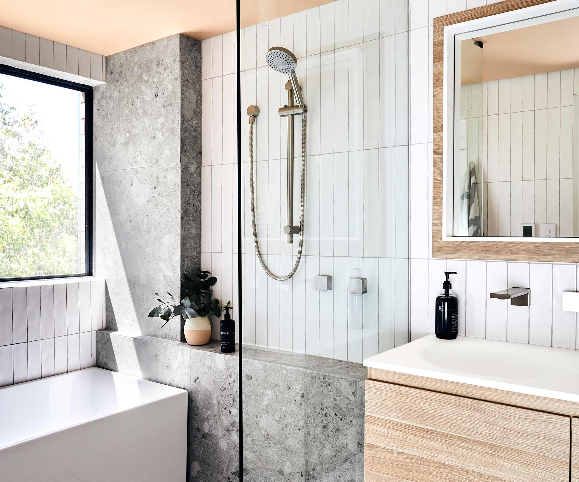 small bathroom look elegant