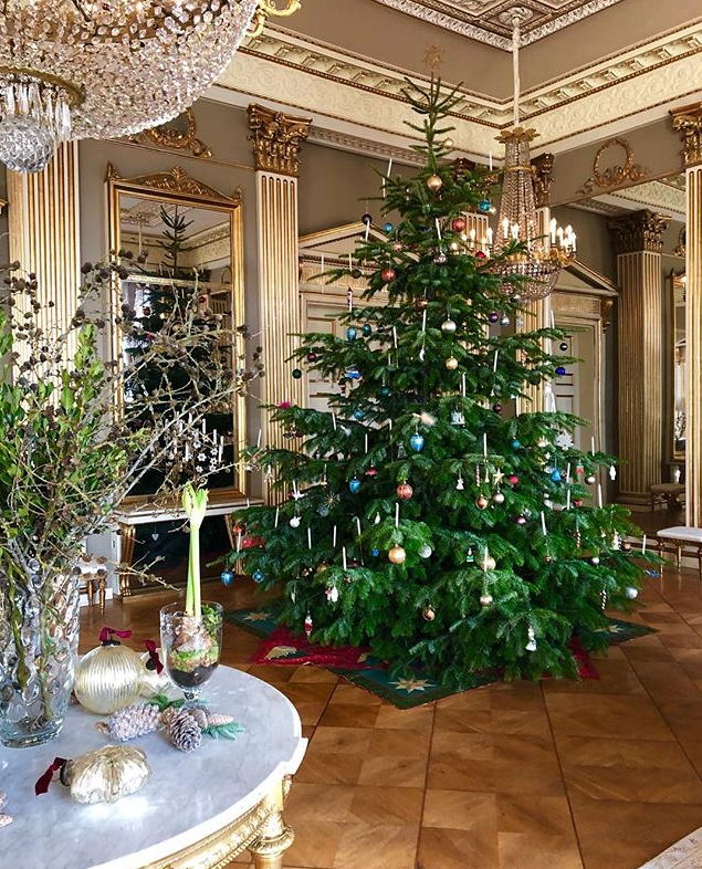The Danish royal Christmas tree was a true sight to behold.