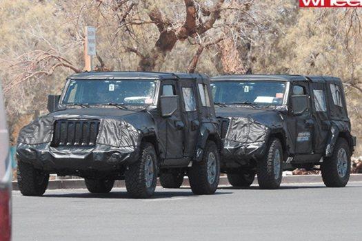 2018 Jeep Wrangler drive