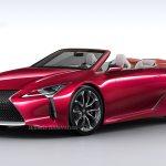 2018 Detroit Motor Show Lexus Lc Convertible On The Horizon