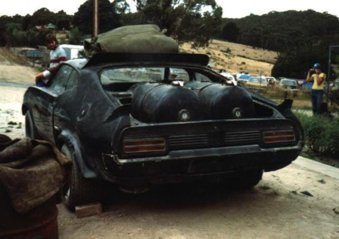 Original Mad Max Interceptor is for sale