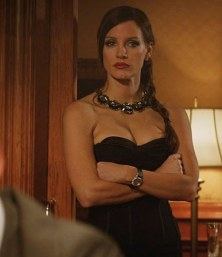 Jessica Chastain as Molly Bloom