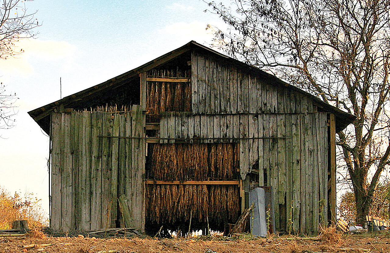 The Story of Tobacco Barns in North Carolina - Our State ...