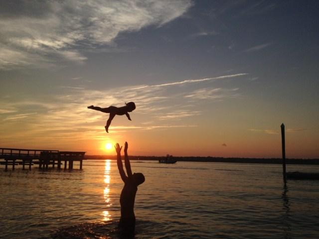 Fly Baby, Seaside Club Wrightsville Beach. By Cornelia Ruttkay.