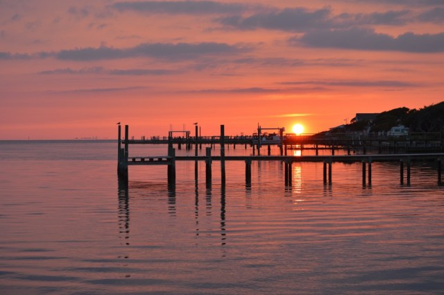 Harkers Island Sunset. By Keith Wall.