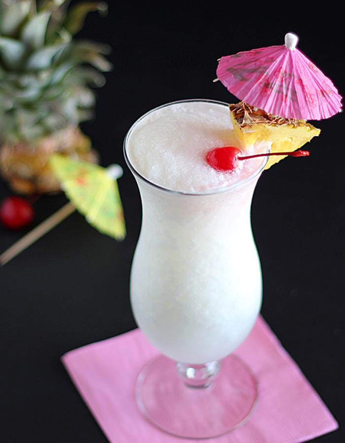 Piña Colada Recipe with a Tarheel Twist - Our State Magazine