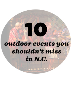 10 outdoor events in NC
