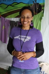 Tonya Taylor, community engagement coordinator at Triangle Land Conservancy.