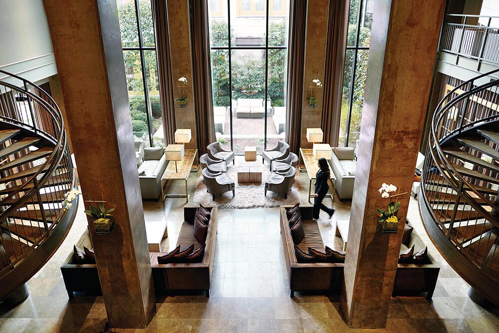 proximity hotel lobby