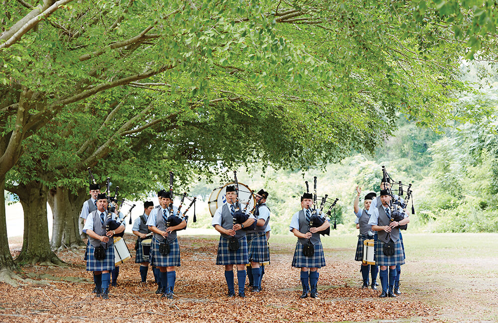 st andrews pipe band