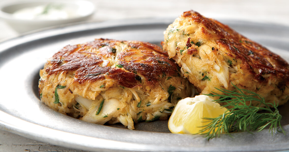 Lump Crab Cakes With Dijon Dill Sauce Recipe Our State