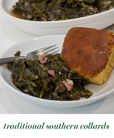 bitesize traditional collards