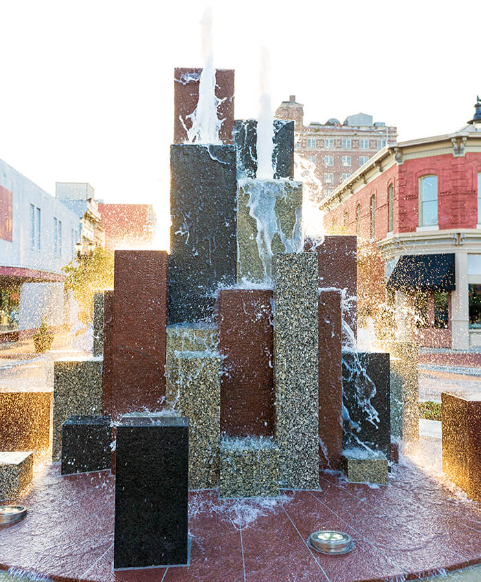 goldsboro city fountain