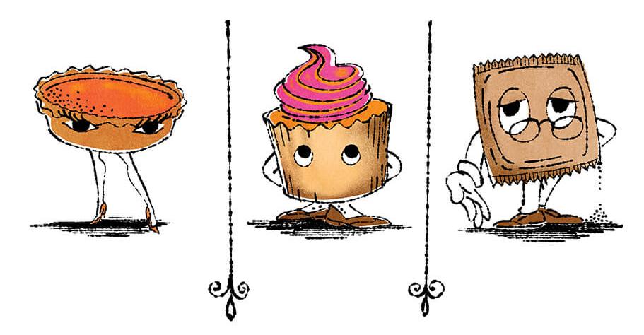 pumpkin cupcake sugar