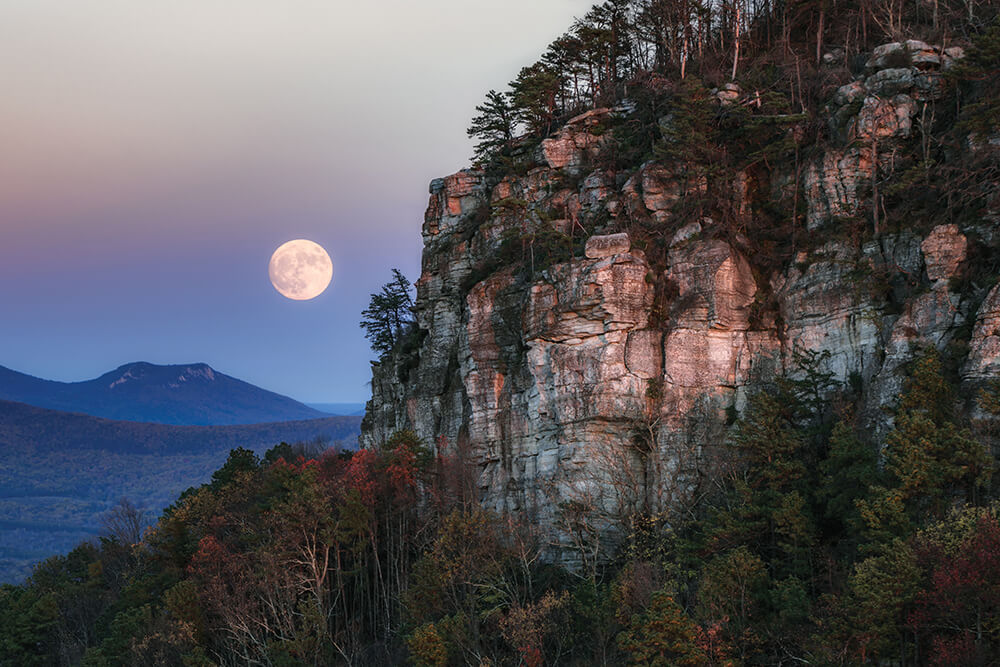 Photo Essay: A Look at the Full Carolina Moon