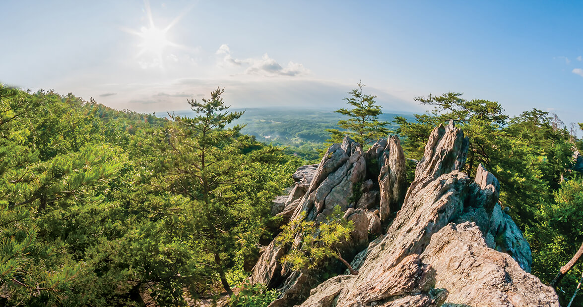Photo taken at crowder's mountain golf club by douglas f. How A Group Of Students Saved Crowders Mountain Our State