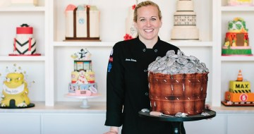 Cakes Become Edible Sculptures at One Belle Bakery in Wilmington