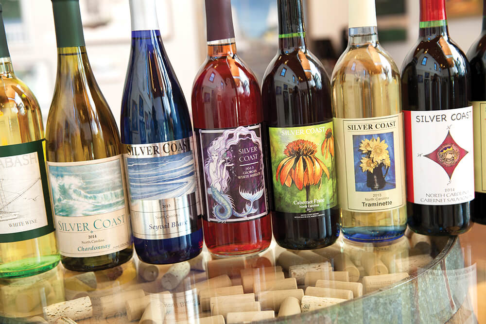Colorful Blends and Eclectic Vibes Abound at Silver Coast Winery