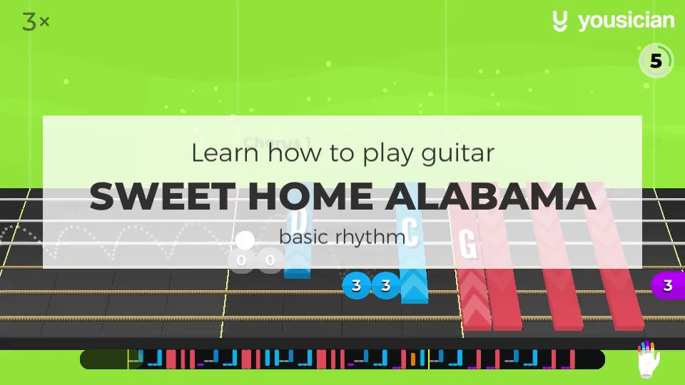 How are you doing this fine saturday? Learn How To Play Sweet Home Alabama On Ukulele Yousician