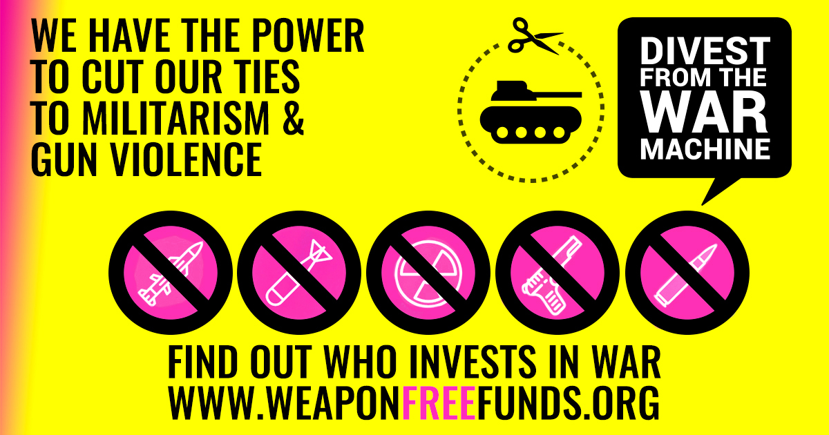 Invest in Weapons Free Funds