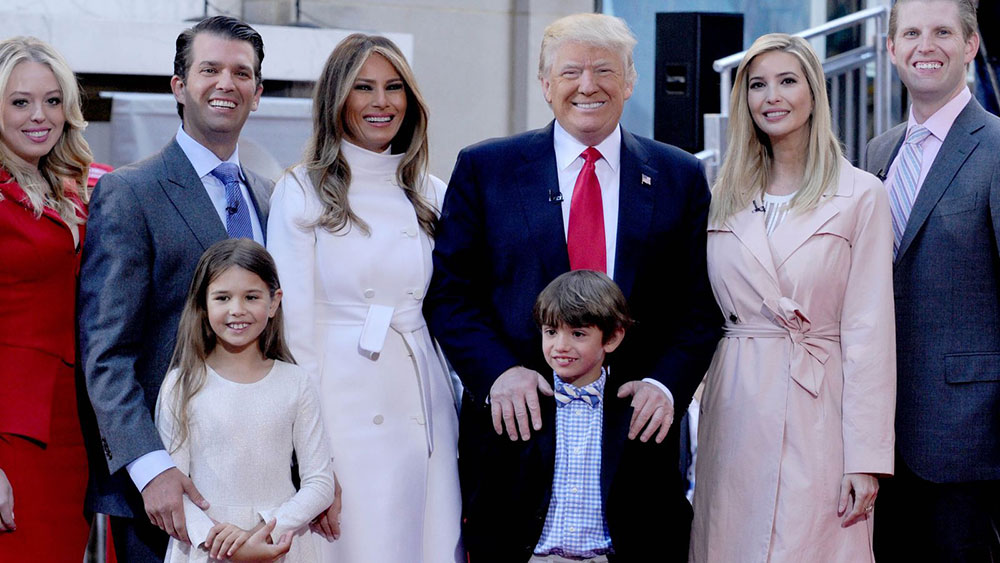 Trump Family Celebrates a Day in History that Changed ...
