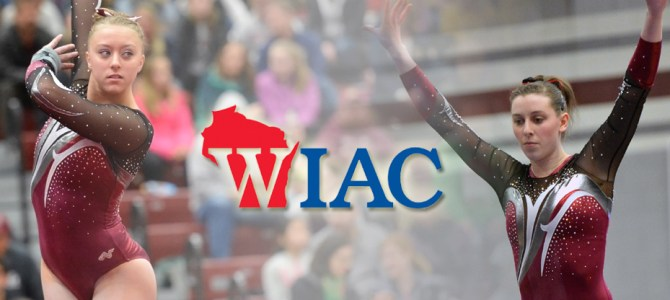 Wiekamp and Willett Sweep WIAC Gymnast of the Week Honors