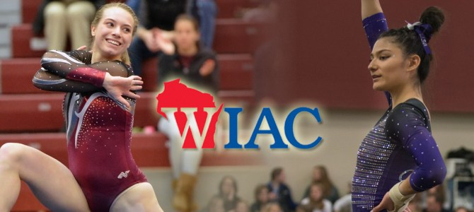 O'Donnell and Enright Tabbed WIAC Gymnasts of the Week