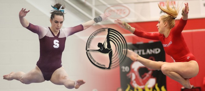 Clemens and Gildemeyer Sweep NCGA East Gymnast of the Week Honors